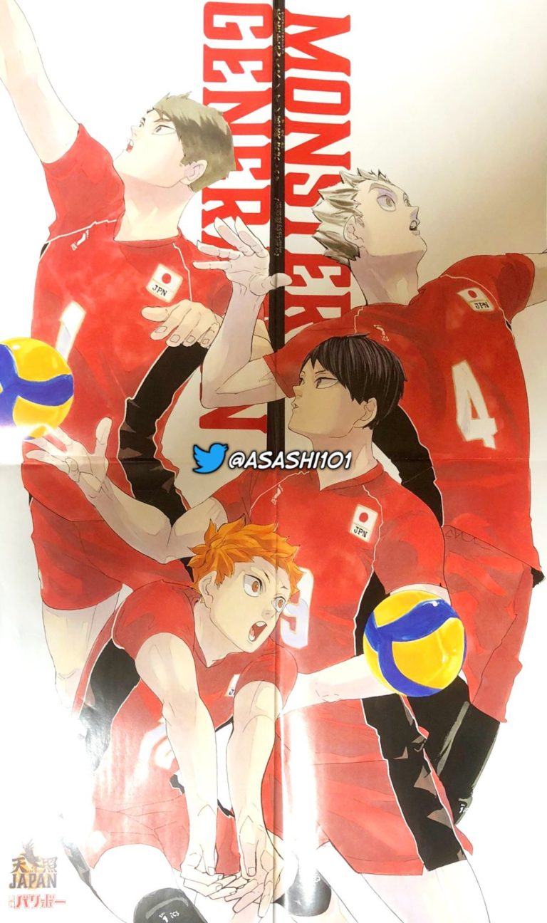 Haikyuu -All Professional Volleyball Clubs & Players. (Updated chapter 402)