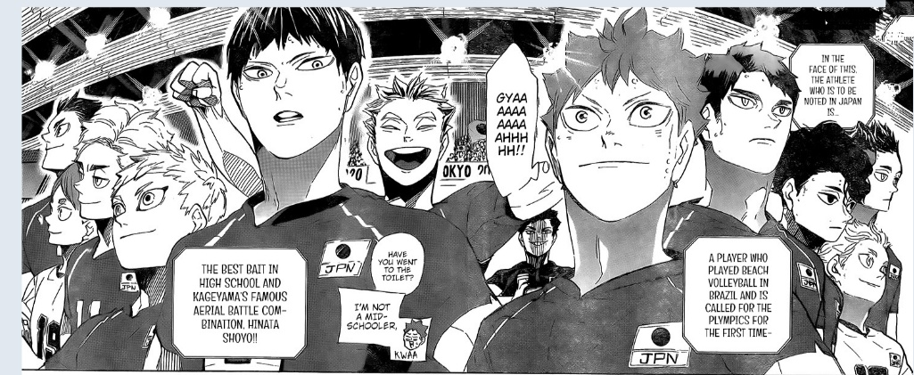 How strong is Haikyuu Japan National Volleyball Team 2021?