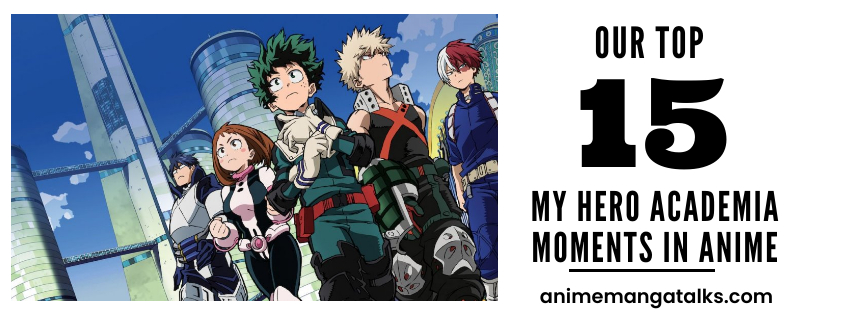 15 My Hero Academia Best Moments in Anime (Boco No Hero Academia)