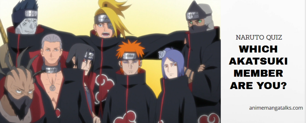Which Akatsuki Character Are you – NARUTO Quiz