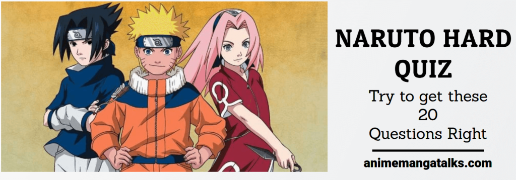 Ultimate Naruto Quiz For True Fans – Harder #2