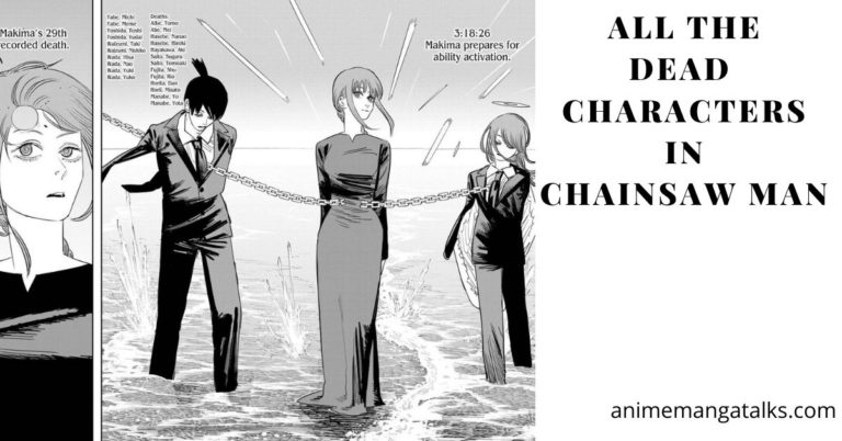 Chainsaw Man Deaths: All Dead Characters Info.