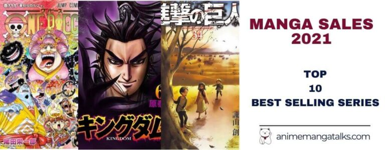 Best Selling Manga 2021: Top 10 Series With Most Sales.