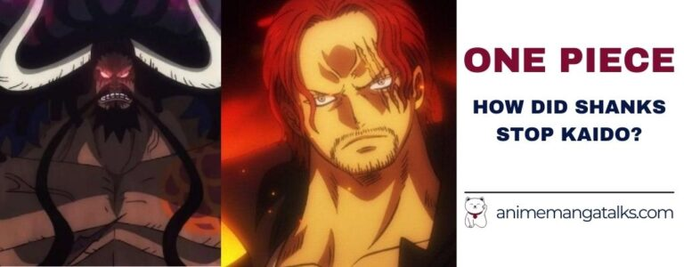 How Shanks Stopped Kaido From Marineford – A Theory.